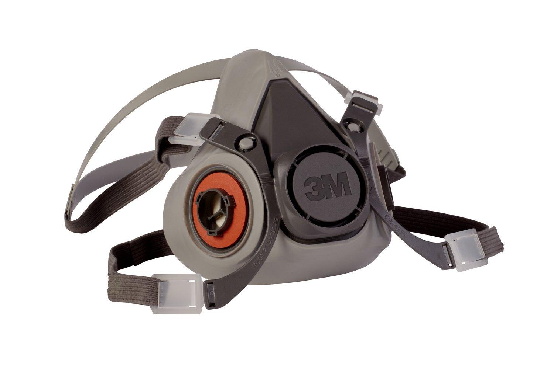 3M 6000 Series Half Facepiece Low-Maintenance Respirators - Medium Size