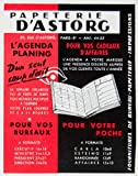 1958 Ad Papeterie D'Astorg Day Planner Agenda Stationary French Organizer Red - Original Print Ad