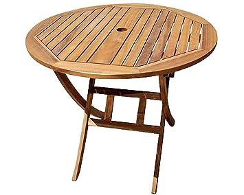 SAM® en Acacia Table de Balcon Jasper, Table de Jardin, Table en ...