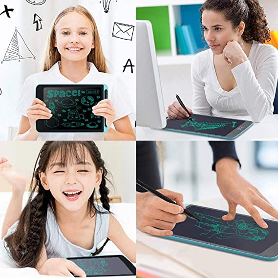 fukjem Tablets Kids LCD Graffiti Writing Tablet Digital Electronic Handwriting Drawing Board Graphics Tablets