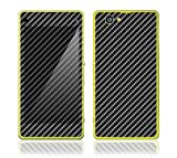 xperia z1 carbon fiber - Protective Decal Skin Sticker Vinyl Phone Cover for Sony Xperia Z1 Compact w/ Matching Wallpaper - Carbon Fiber