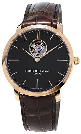 Leder Armbanduhr Herren Slimline Constant Automatik Frederique 40mm IbyYgm7f6v
