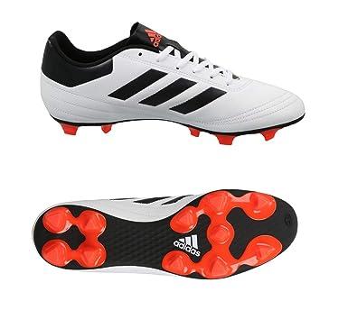 196a99014a116 Adidas Men's Goletto Vi Fg Ftwwht, Solred, Cblack Football Boots-12 ...