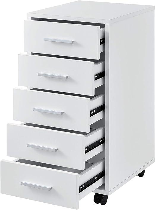 Stahl Rollcontainer Büroschrank mit Schubladen Rollwagen Büroschrank Büromöbel