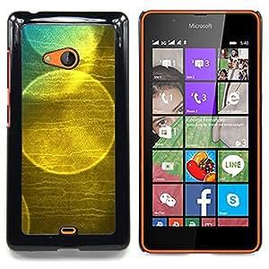 For Microsoft Nokia Lumia 540 N540 - bubble soap reflection sun nature /Modelo de la piel protectora de la cubierta del caso/ - Super Marley Shop -
