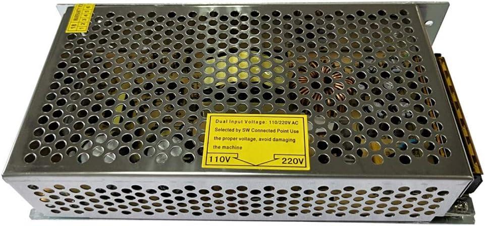 30A 220V TO DC 12V Regulated Transformer Switch Power Supply Driver Adapter For CCTV camera Security System LED Strip Light Henxlco AC 110V