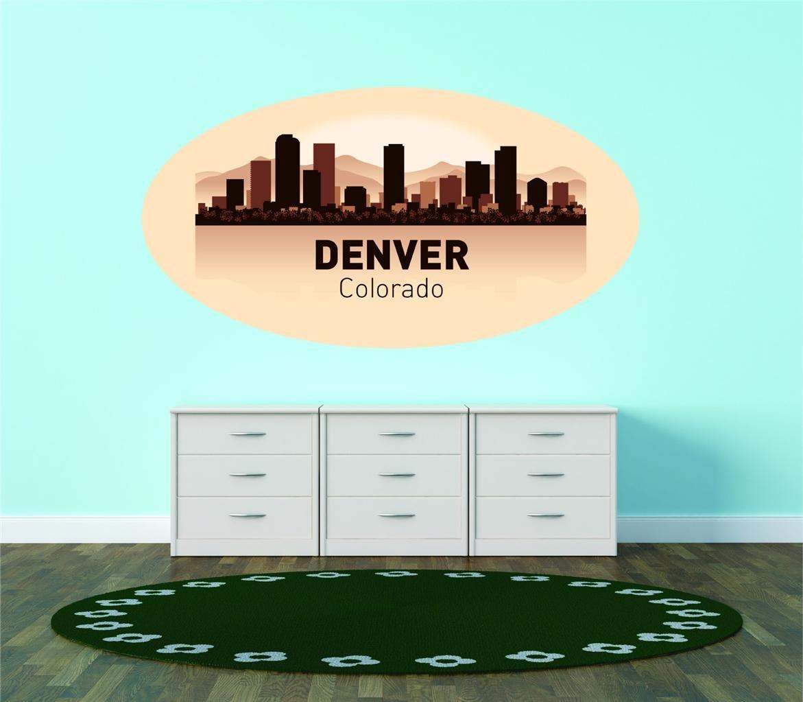 Amazon.com: Denver Colorado United States Major City Geographical ...