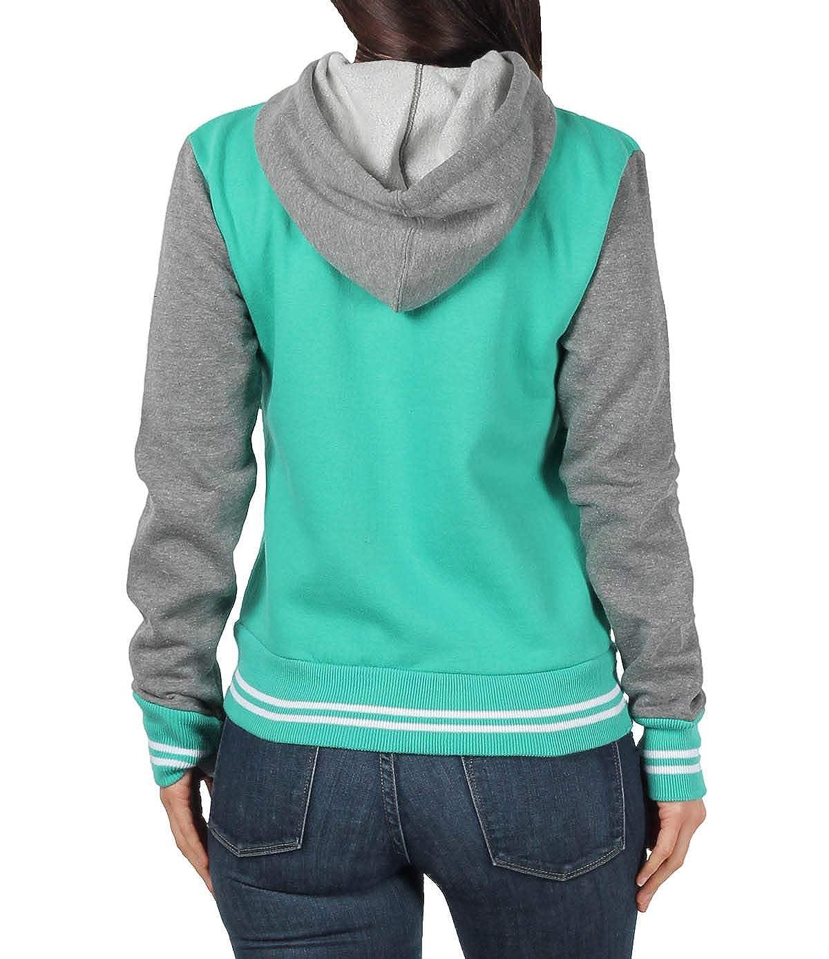 MV Sport Ladies Junior Varsity Fleece Hooded Jacket