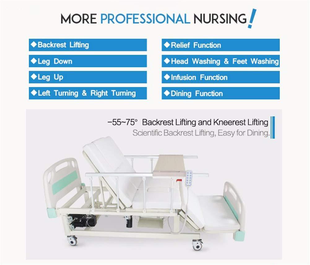 Amazon.com: Cama de enfermería eléctrica multifunción para ...