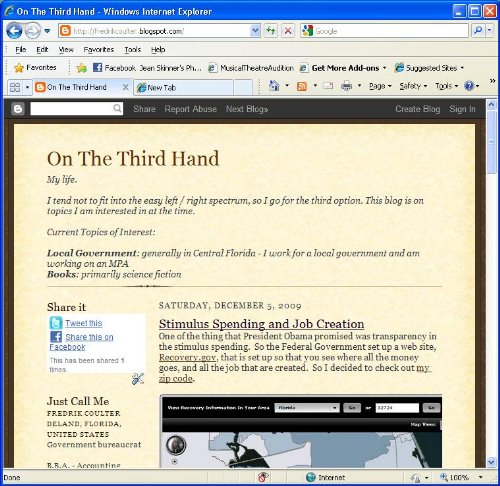 Amazon com: On The Third Hand: Fredrik Coulter: Kindle Store