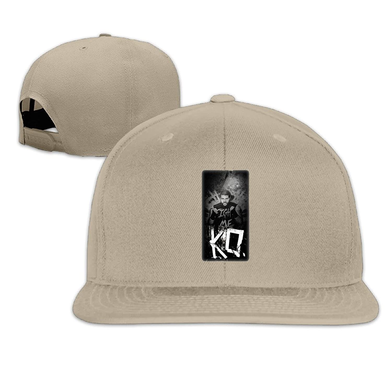 White Fashion Knit Caps Kevin Owens Wwe For Male