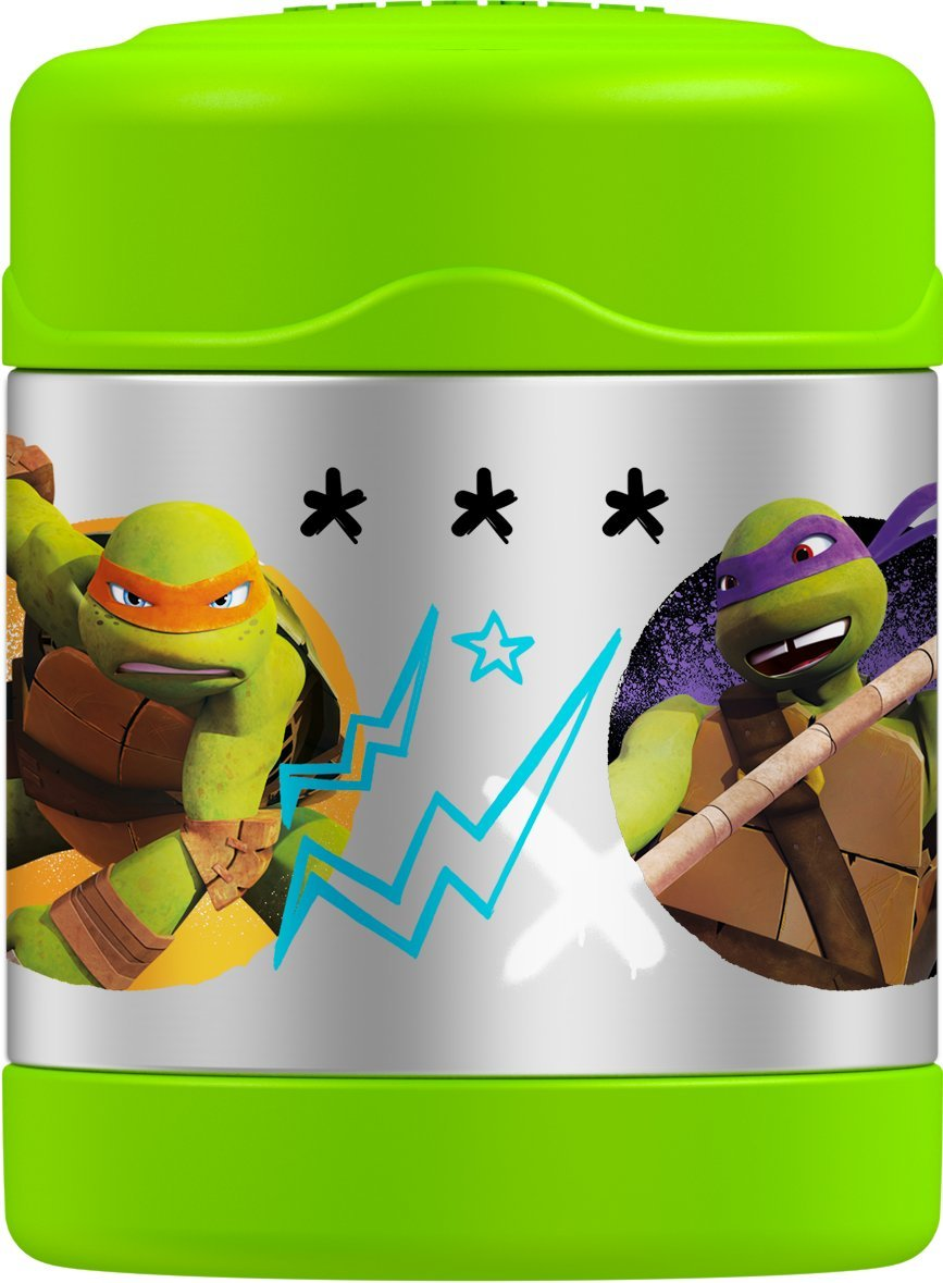 Thermos Funtainer 10 Ounce Food Jar, Teenage Mutant Ninja Turtles