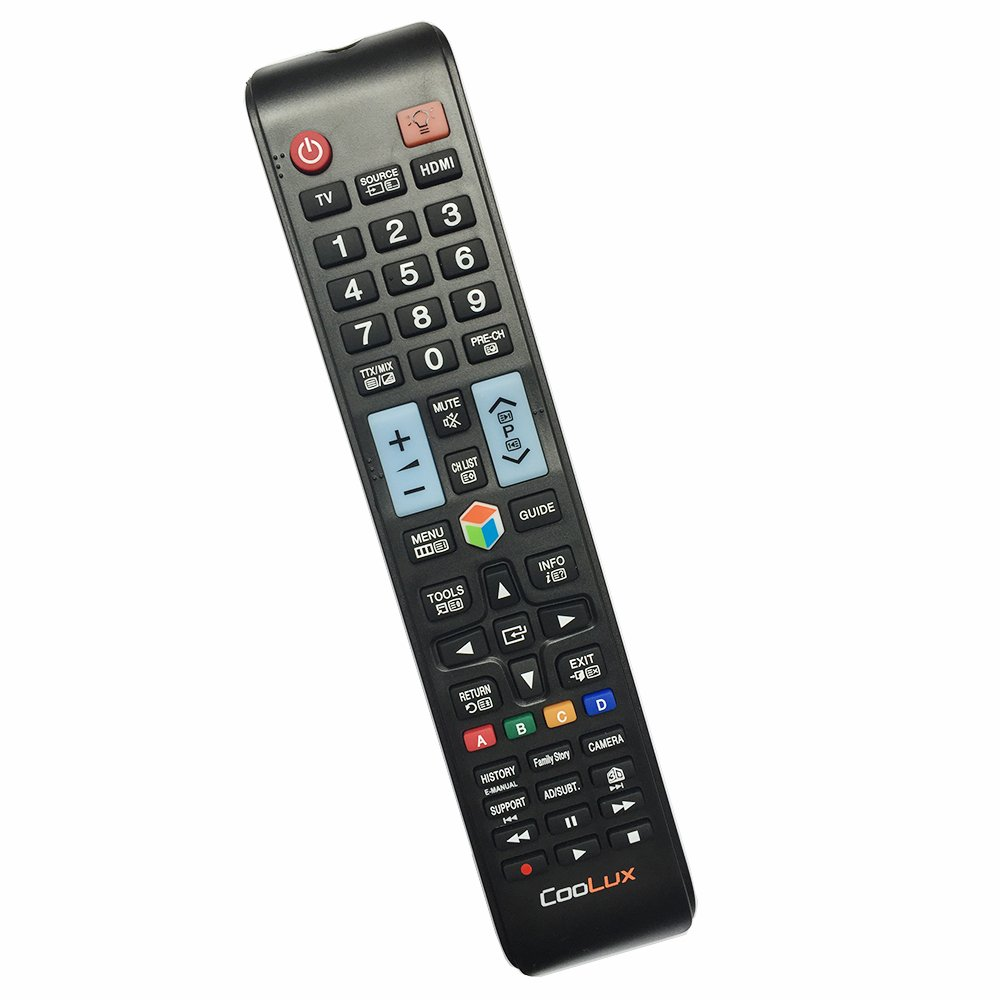 Universal Remote Control for all Samsung LCD LED HDTV 3D Smart TVs by Coolux