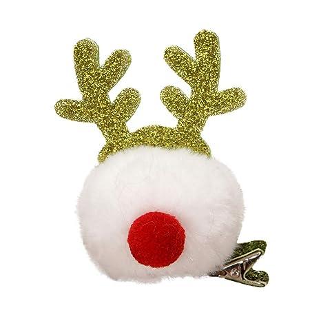 Horquilla para niños, tocado navideño para niños tocado de ...