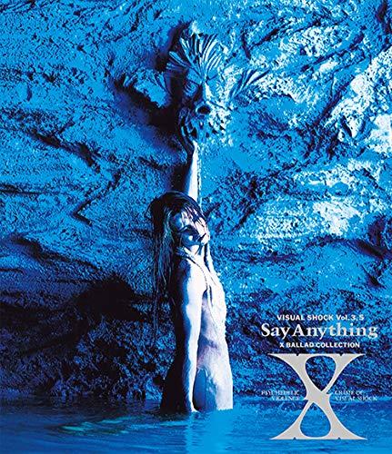 エックス / VISUAL SHOCK Vol.3.5 Say Anything X BALLAD COLLECTIONの商品画像