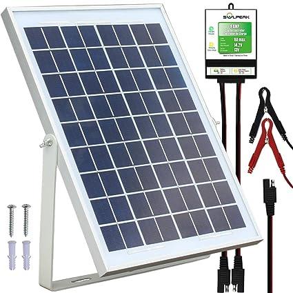 Amazon.com: Solperk - Panel solar de 20 W, cargador de ...