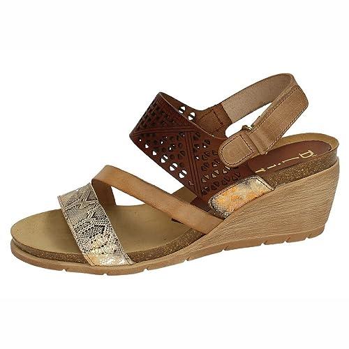 487ded1f9d0ca DLIRO 5486 Sandalias DE Piel Mujer Sandalias  Amazon.es  Zapatos y  complementos