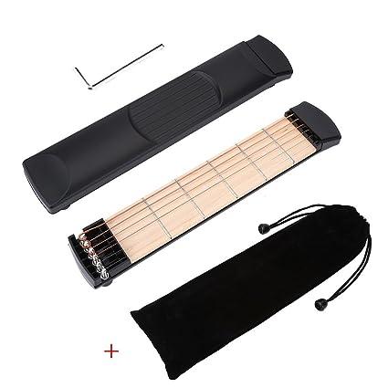 Ejercicios de Dedos de Guitarra 6 Cuerdas Herramienta de Práctica para Principiantes