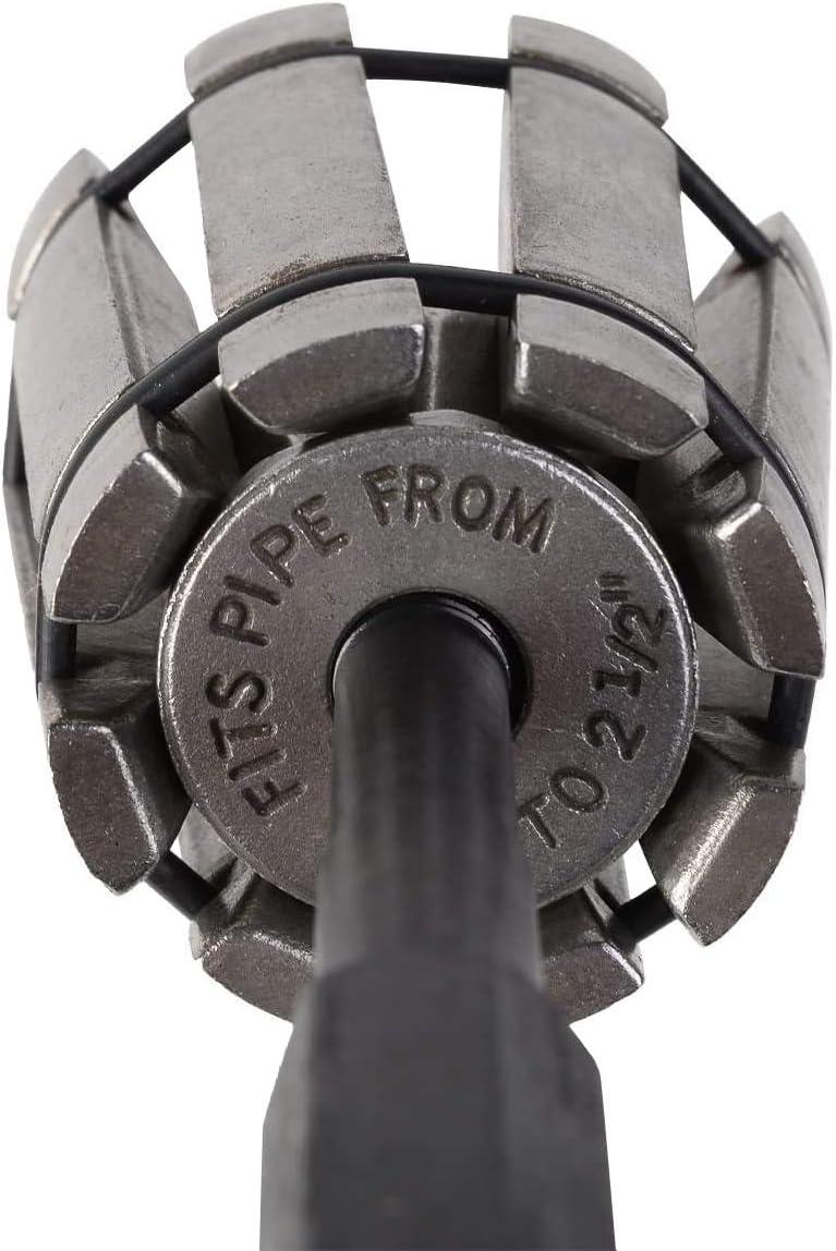 CNWOOAIVE Auspuff Rohraufweiter Rohrspreizer Set 3-teiliges Auspuff Auspuffaufweiter Rohr Aufweiter Rohraufweiter