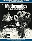img - for Mathematics Unlimited - Grade 1 Classroom Activity Book - Blackline Masters book / textbook / text book