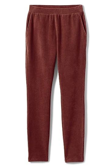 6de9dc6c8941fc Lands' End Women's Plus Size Petite Sport Knit Corduroy Leggings at Amazon  Women's Clothing store: Pants