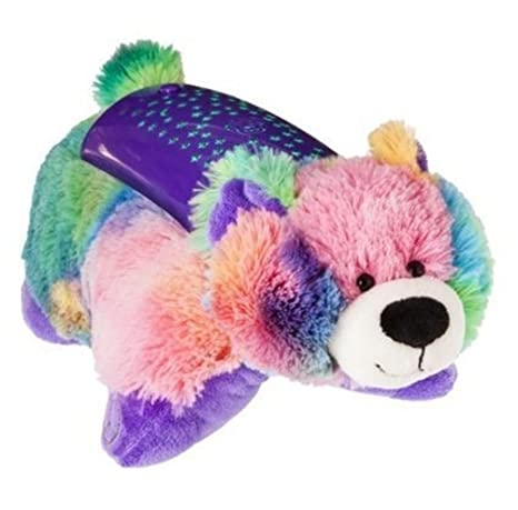 Amazon pillow pets dream lites plush night light peace bear pillow pets dream lites plush night light peace bear 11quot aloadofball Gallery