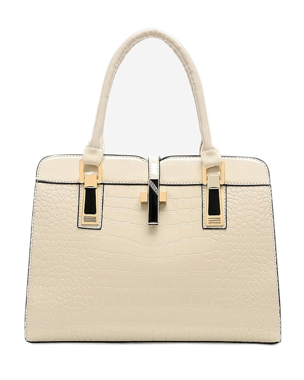 Fashiondiary Women's Embossed Tote Handbags