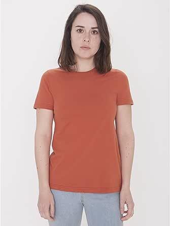 American Apparel Womens 23215ORG Organic Fine Jersey Classic Woman T-Shirt T-Shirt