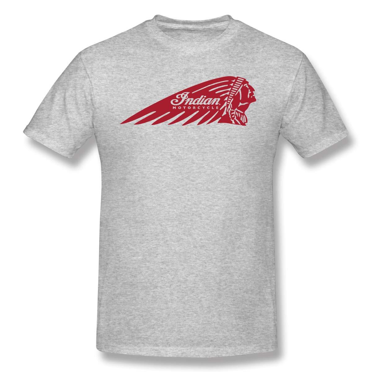 Davidbill T Shirt For Indian Motorcycles Logo Cool Short Sleeve Tee 5471