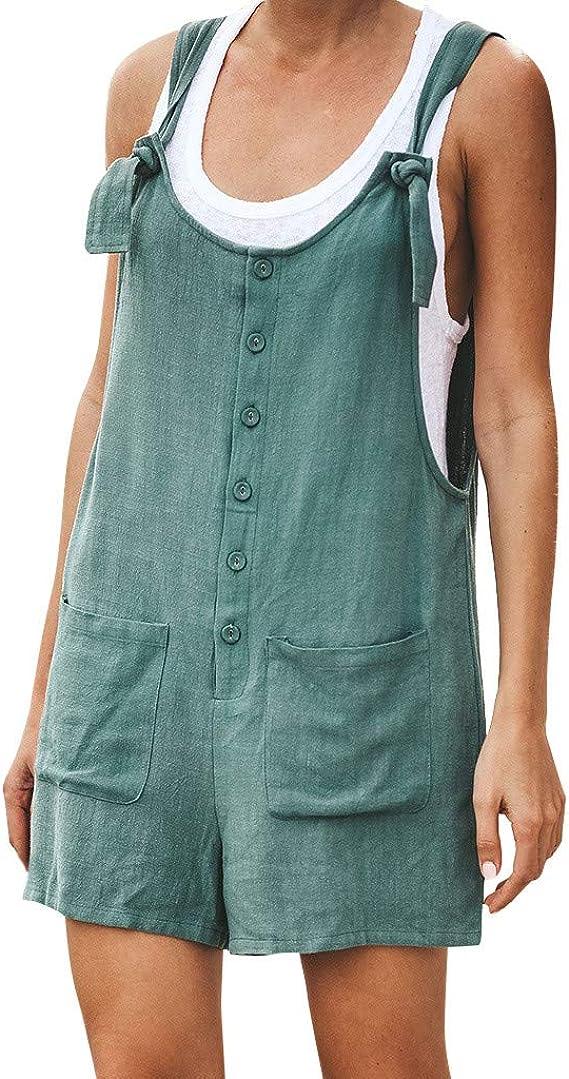 Summer Suspender Overalls