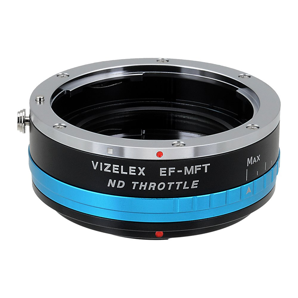 Vizelex ND Throttle Lens Adapter Compatible with Canon EOS EF and EF-S Lenses to Micro Four Thirds Mount Cameras