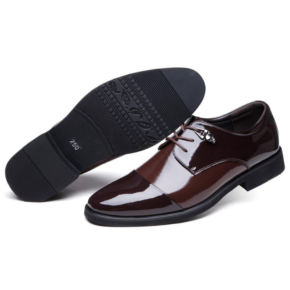Lederschuhe Manner Business Formale Arbeit Mode Uniform Schuhe