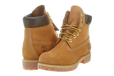 28ce9b47e449f Amazon.com | Timberland 6\ Boot Mens Style: 10061-WHEAT/BLE Size: 7 ...