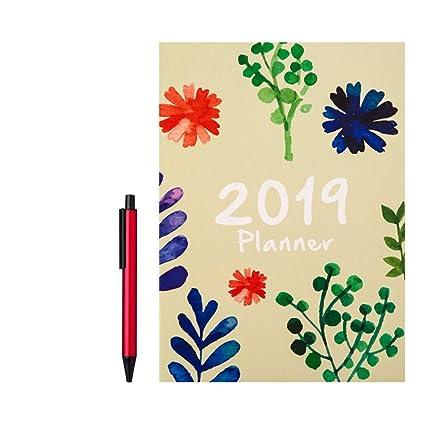 HFY-B Organizador Agenda Diaria planificador Cuaderno del ...