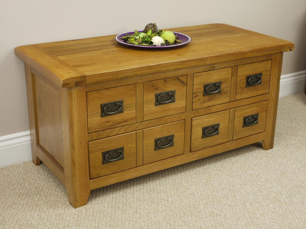 Rustic oak coffee table with sliding storage amazon rustic oak coffee table with sliding storage amazon kitchen home geotapseo Choice Image