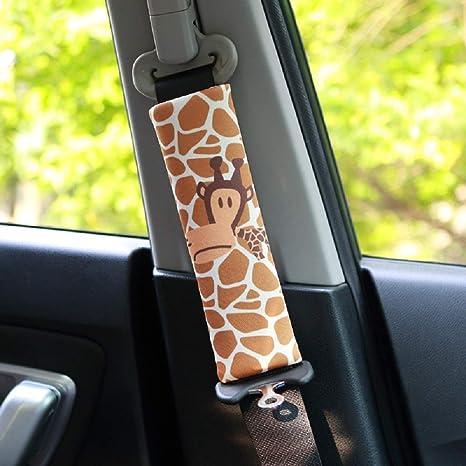 Viaggio Ammortizzatori per bambini e adulti D PUSHIDA 2Pcs Alta Qualit/à Protezioni per Cintura di Sicurezza Auto