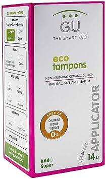 Tampones de algodón ecológico con aplicador biodegradable - Sin ...