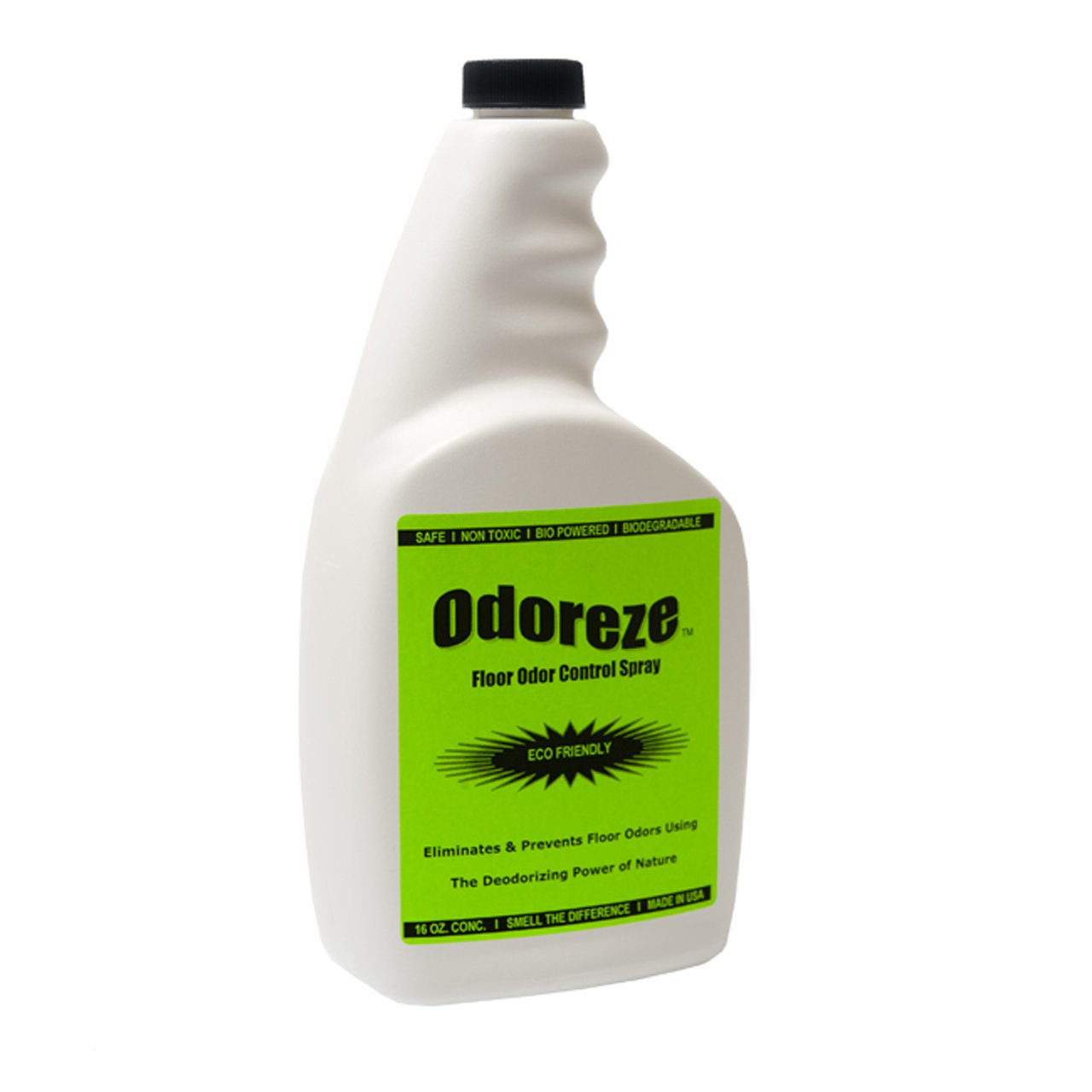 ODOREZE Natural Floor/Grout Cleaner & Deodorizing Spray: Makes 64 Gallons to Clean Stink Fast