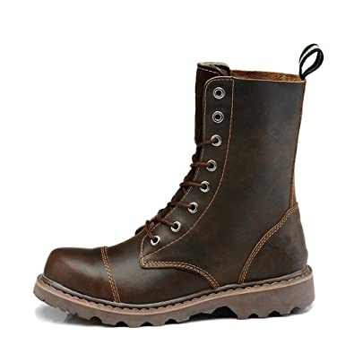 IDNG Chaussures Basket Hommes Bottes Militaires Chaussures