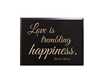 Amazon De Love Is Trembling Happiness Khalil Gibran