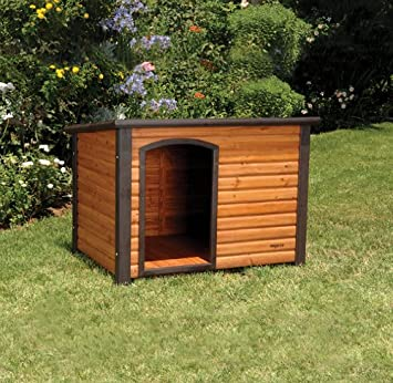 Amazoncom Precision Pet Extreme Log Cabin Dog House Dog Houses