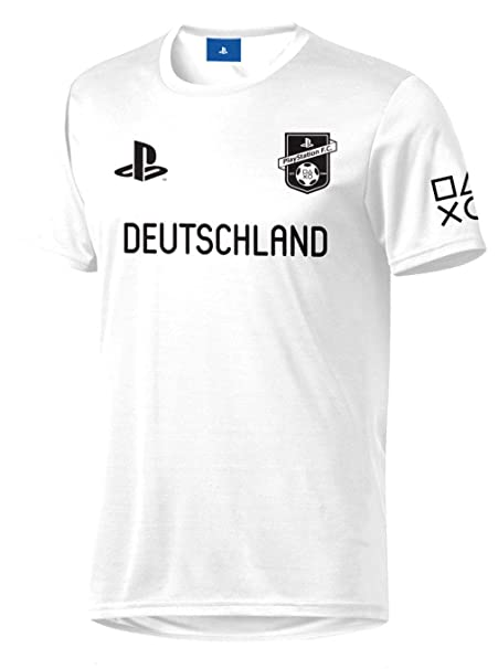 Sony Playstation FC - Alemania - Hombre Oficial Camiseta de Fútbol: Amazon.es: Ropa y accesorios