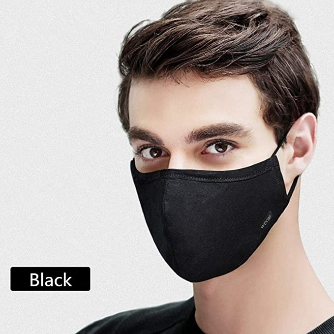 Mask Respirator Breathable Face Mouth Cotton Filter