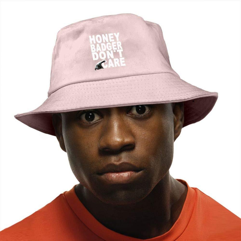 Honey Badger Do Not Care Bucket Hat Summer Fisherman Cap Foldable Sun Protection Hat Nepalese Cap