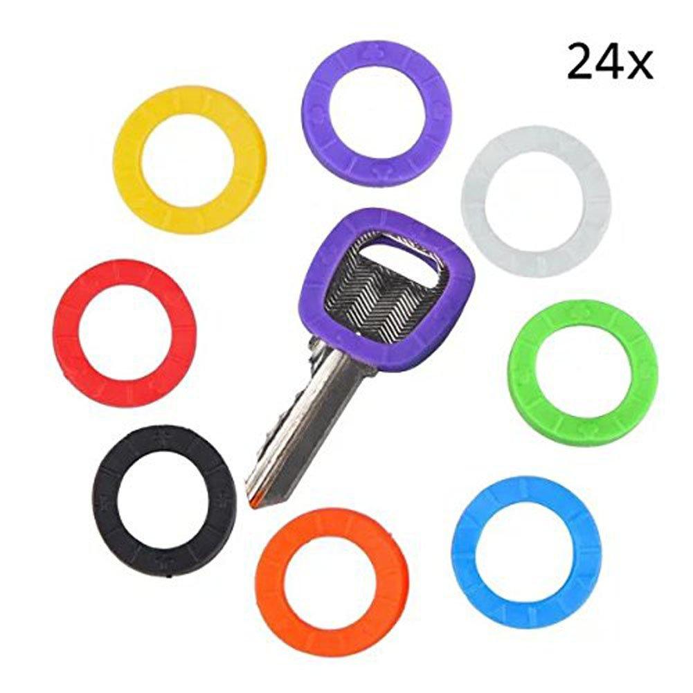 10 St/ück 1620010 Lucky Line Hausschl/üsselkappen verschiedene Farben