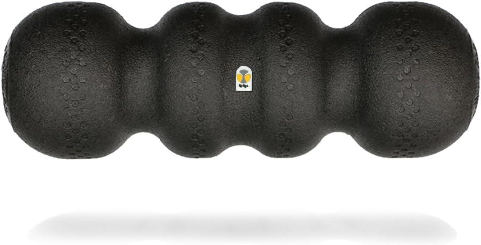 Rollga Foam Roller – Hard PRO Deep Tissue Massage Trigger Point Release Muscle Roller