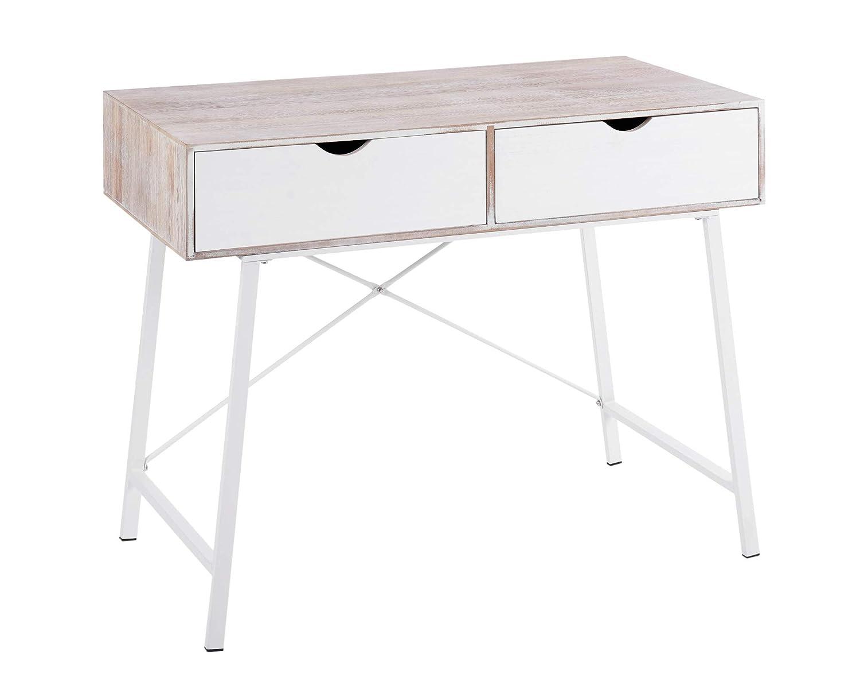 ts-ideen - Mesa de tocador (77 x 97 cm), diseño Vintage: Amazon.es ...