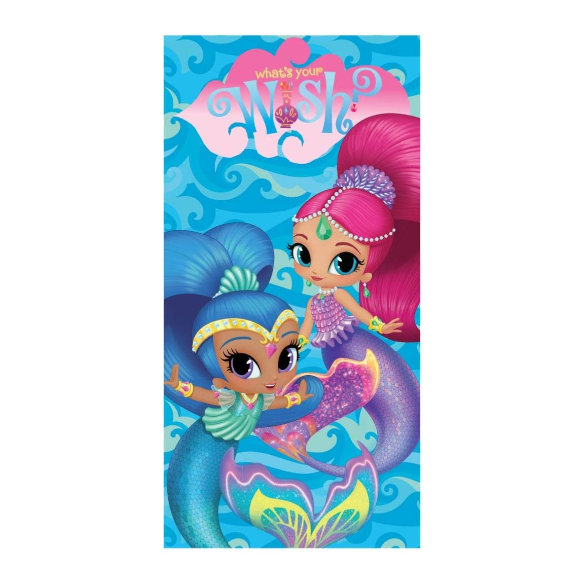 Shimmer and Shine 2200002932 - Toalla playa y piscina Artesania Cerda