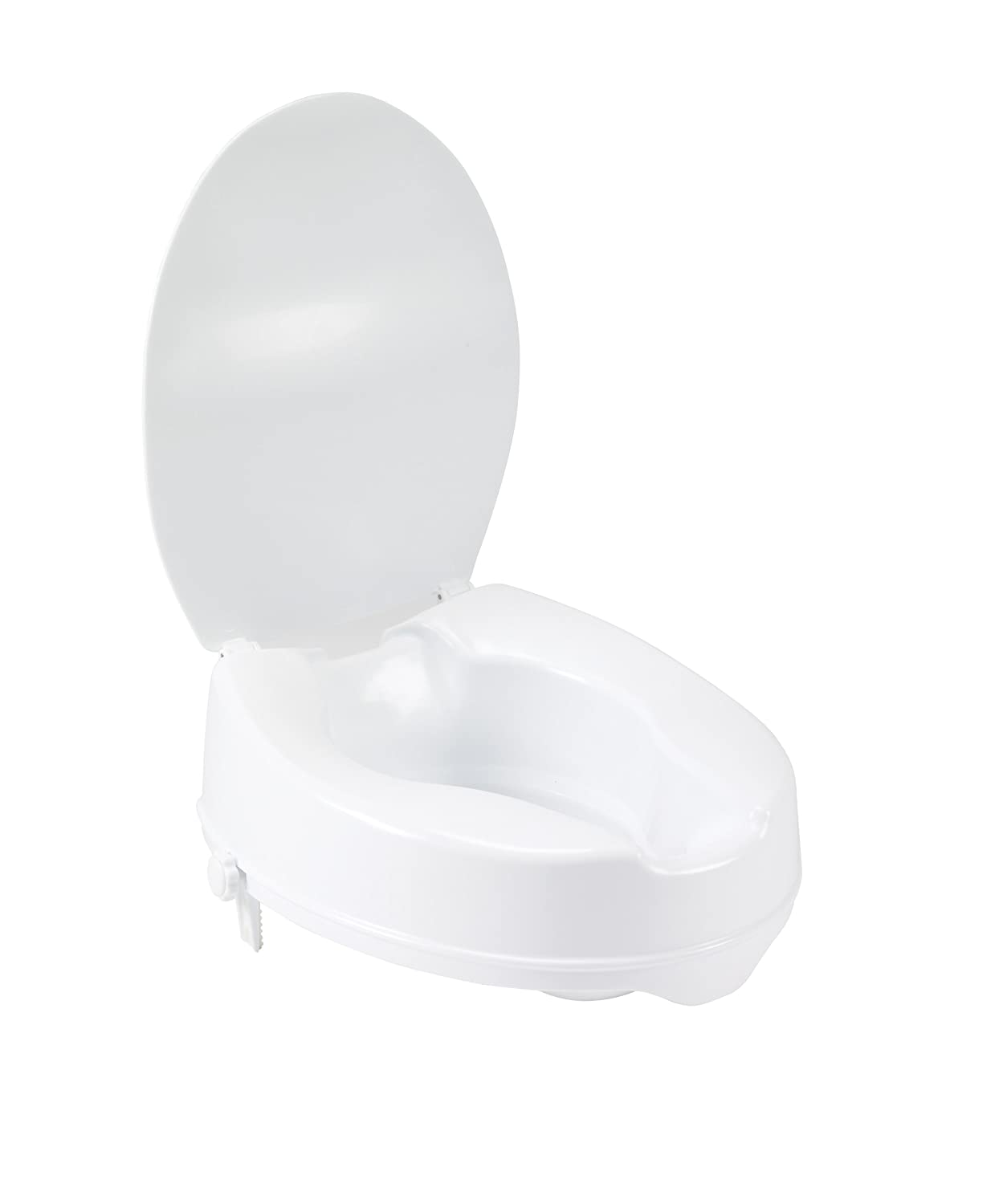 Amazon.com: Drive Medical Raised Toilet Seat with Lock and Lid ...