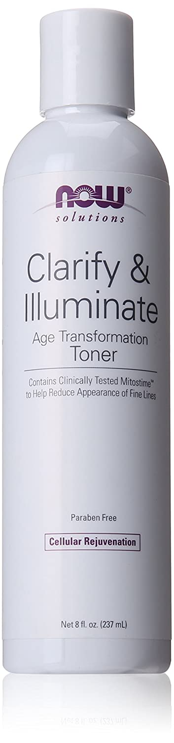 Clarify & Illuminate Age Transformation Toner - 8 oz. by NOW Foods (pack of 1) Perricone MD High Potency Amine Face Lift, 2 fl. oz.